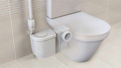 Jimten Ciclon Fit1 T-501 Triturador sanitario (hasta 5m-1 toma WC), Fit