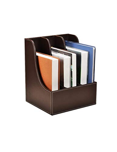 LYMUP Titular del Archivo Armarios de Escritorio Magazine Rack Estilo Minimalista Moderno Archivo de Relleno Caja de Almacenamiento Caja de Almacenamiento de Escritorio (Color : B)