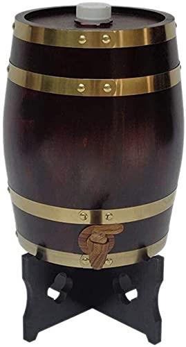 Sencillez Madera Barril 5L / 10L / 15L / 20L / 30L / 50L Grifo Cerveza Licor Whisky Jugos Cañones Bebidas Dispensador Hogar CHENGYI (Color : C, Size : 20L)