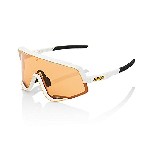 100% Occhiale GLENDALE Soft Tact Off White - Persimmon Lens