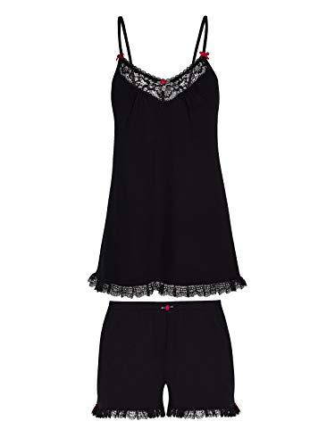 Vive Maria Black Boudoir Short Pyjama Black, Größe:L