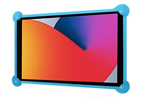 Funda Tablet Universal Silicona Valida para Todas Las Tablets pc del Mercado Desde 7' a 12' Fundas Tablets Universal Silicona (Azul)
