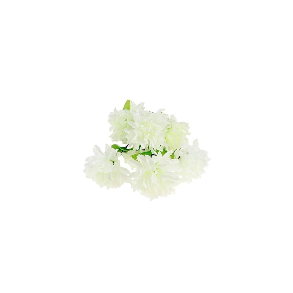 Artificial Silk Flower Arrangement In Pot For Grave/Memorial Vase/Funeral |Color – White|