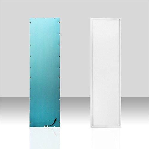 [Pro High Lumen]OUBO LED Panel 120x30cm Naturweiß / 36W / 3500lm / 4000K / Weißrahmen Lampe dünn SLIM Ultraslim Deckenleuchte Pendelleuchte Wandleuchte Einbauleuchten[Energieklasse A+]