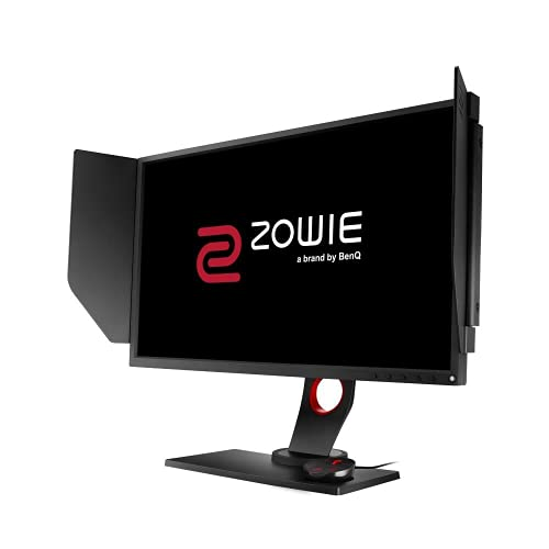 "BenQ ZOWIE XL2546 - Monitor Gaming de 24.5"" FullHD (1920x1080, 1ms, 240Hz, HDMI, Tecnología DyAc, Black eQualizer, Color Vibrance, S Switch, Viseras, DP, DVI-DL, Altura Ajustable) - Gris"