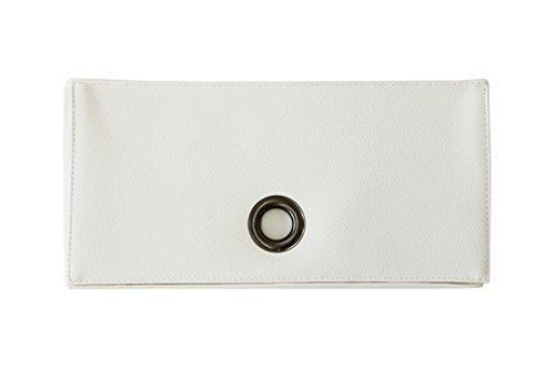 TEES FACTORY 国産 PVC レザー ティッシュ ケース SPACE ホワイト