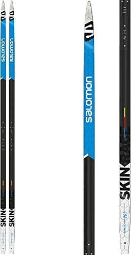 Salomon ski de fond ski super léger ski d'entrainement S / Race eSkin 201cm noir / bleu / blanc, Taille:201 cm