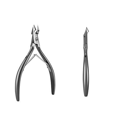 Cortaúñas para eliminar cutículas, tratamiento de cutículas, juego de manicura, cortacutículas, cortacutículas para mujeres, cortacutículas profesional (Boutique)