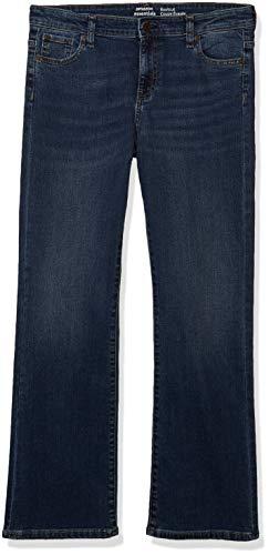 Amazon Essentials Girls' Boot-Cut jeans, Blau (Houston/Medium), 12P