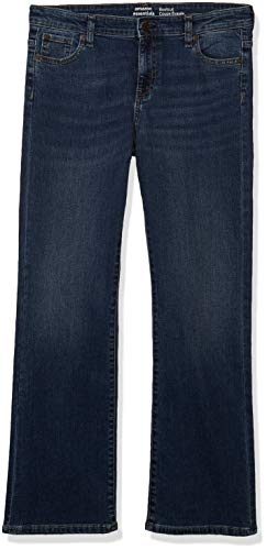 Amazon Essentials Girl's Boot-Cut Stretch Jeans, Houston/Medium, 6R