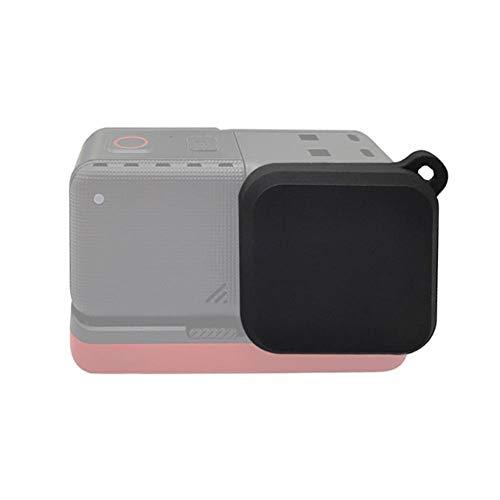 T opiky Tapa Protectora de Lente, cámara Ligera portátil Tapa Protectora de Tapa de Lente Accesorio de fotografía para Insta 360 One R 4K cámara de acción(Negro)