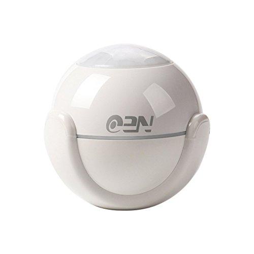 Fltaheroo Detector de movimiento WiFi detector de alarma Pir detector de movimiento para domótica y alertas de notificación de aplicaciones, sin necesidad de hub
