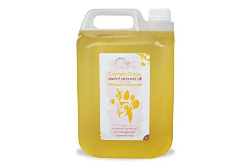 5 liter Aceite de almendras cosmético prensado en frío 100 % puro