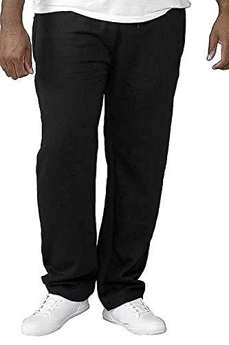 Rockford Duke Albert Hombre Talla Grande Pantalón de Chándal - Negro, Tamaño...