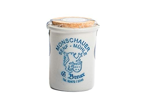 Kaisersenf Anno 1897 - Monschauer Senf - 200 ml im Steintopf - grober Rotisseursenf