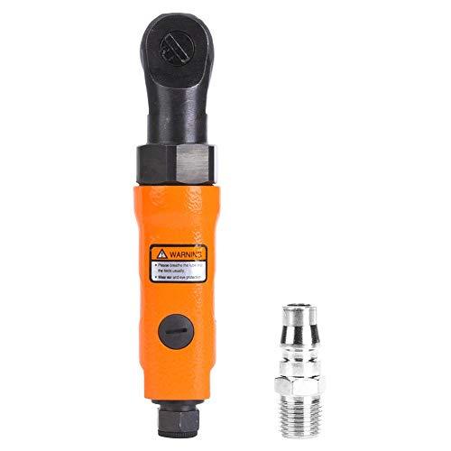 Mini pneumatischer Ratschenschlüssel, gerader Schaft Luftratschen, 1/4 Zoll Schnittstelle, drei Gänge, Drehzahl 265 U/min, Drehmoment 22N.M, 4 cfm Luftverbrauch(1/4in)