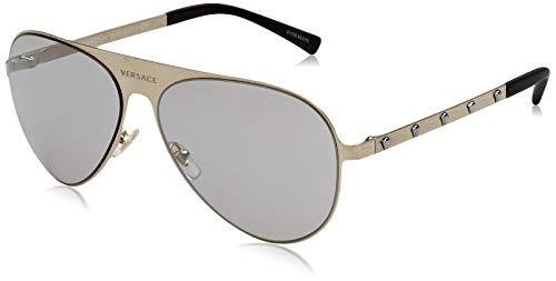 Versace 13396G Gafas de sol, Brushed Pale Gold, 59 Unisex