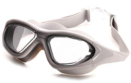 LLXHG Antibeschlag-Schutzbrille Myopie-Schutzbrille-Erwachsener Mann Und Frau Mit Grad-Schwimmen-Brille Schwärzen 300 °