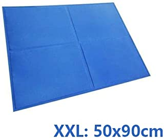 Pet Cool Gel Mat Dog Cat Bed Non-Toxic Cooling Dog Summer Pad 7 Sizes (XXL)