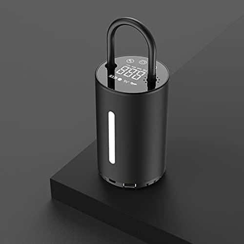 Bombas de aire portátiles Compresores de aire eléctricos Inflador de neumáticos Indicador de presión Linterna LED digital Bomba inflable para coche bicicleta bola dispositivo de inflado