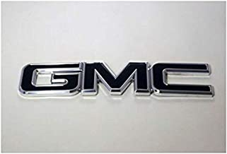 All Sales 96500KP Black Emblem Accents(99-07 Sierra/00-14 Yukon/02-09 Envoy Front Inin Grille - Polished/Pwdr)