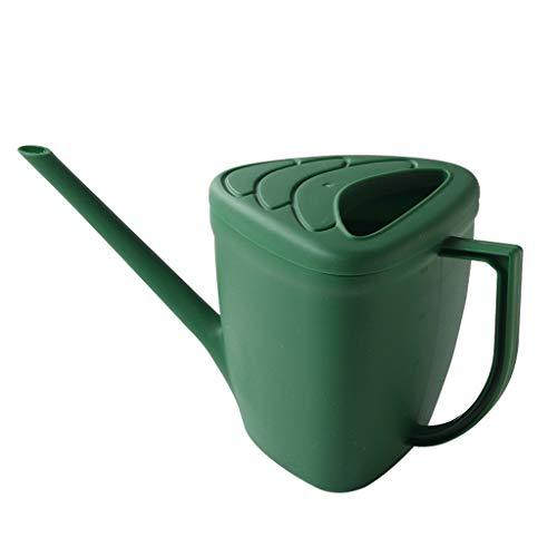 Arrosoirs Accueil Arrosoir 1L Idéal for la plantation de fleurs, jardinage, durable, intérieur, extérieur, Patio, Pelouse et jardins arrosoir À l'intérieur et à l'exterieur Arrosoir ( Color : Green )