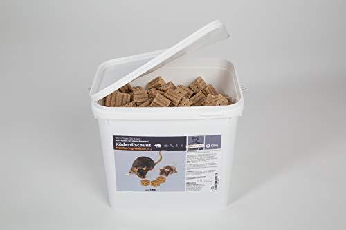 Köder-Discount: 5 kg Monitoring-Block (ohne Rattengift)