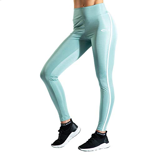 SMILODOX Leggings Vital para mujer   deporte & gimnasio   fitness   tiempo libre   yoga   realzan la figura   artículos combinados   pernera larga verde M