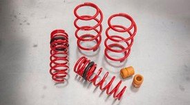 Genuine Toyota Parts - TRD Lwr Springs Co (PTR07-02140)