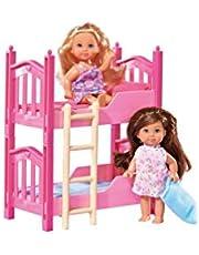 Simba 105733847 – Evi Love dockor i våningssäng