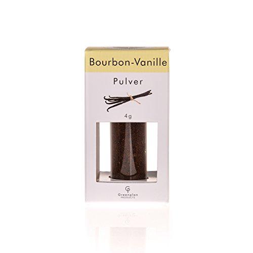Vanillepulver Bourbon Madagaskar - gemahlene Vanille Schoten - 4 g