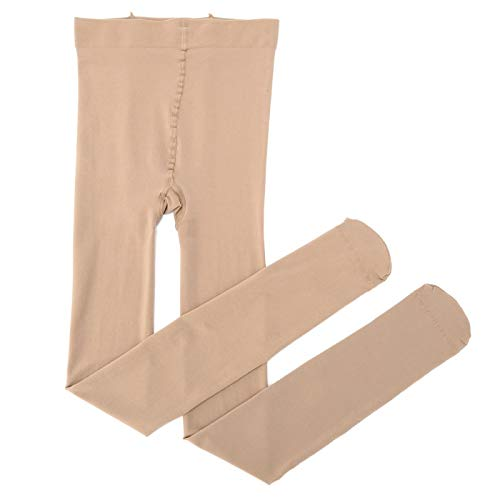 FENGHUAN Ultra Elastic Tights Stockings Women Weight Control Body Shaper Pantyhose 30D Stocking Tights Underwear Beige