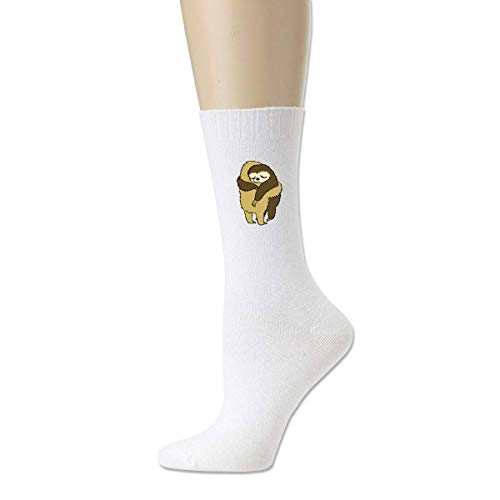 BEDKKJY luiaard knuffels mannen casual katoen sokken gek bemanning sokken jurk sokken