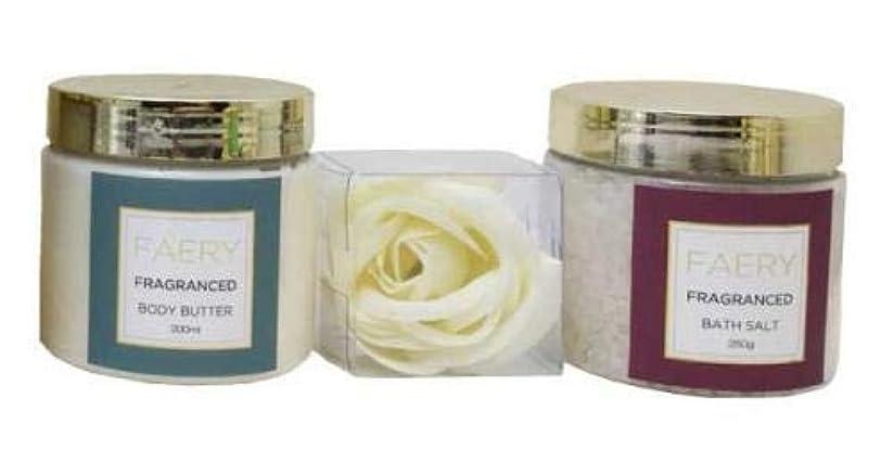 水族館タオル実質的にフェアリ FAERY ボディケアセット ファシナンテピオニーの香り