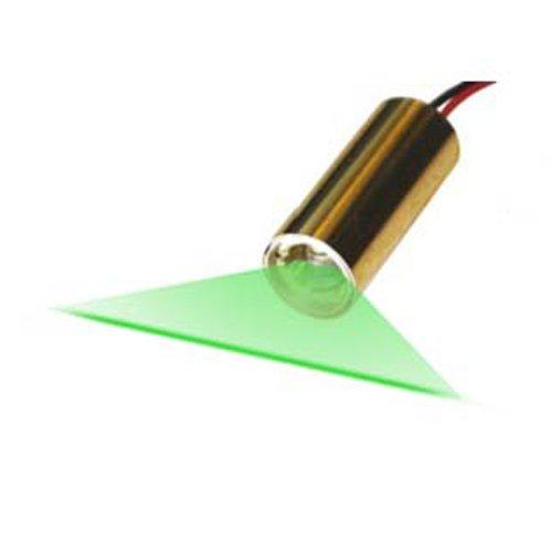 Quarton Laser Module VLM-520-27 LPA Direct Green Laser Line Generator (Industrial Use Line Laser)