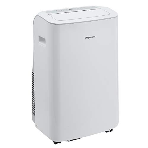 Amazon Basics – Tragbare Klimaanlage mit Luftentfeuchter, 9.300 BTU/h, Energieeffizienzklasse A