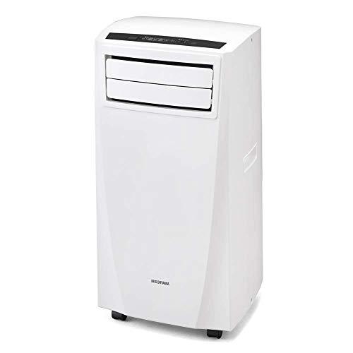 【設置工事不要】アイリスオーヤマ エアコン 移動式 ウインドエアコン IPC-221N 冷房 除湿 スポットエアコン ポータブルクーラー 窓パネル付き ホワイト