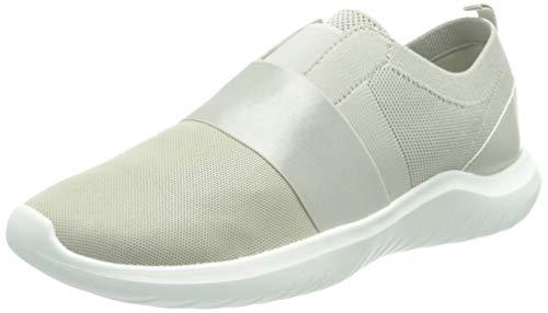 Clarks Nova Lumis, Zapatillas Mujer, Tejido Metalizado, 39.5 EU