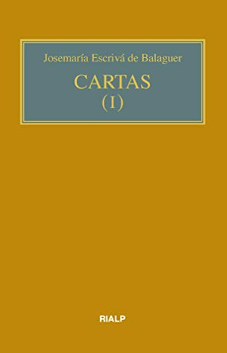 Cartas I (bolsillo, rústica) (Libros de Josemaría Escrivá de Balaguer)