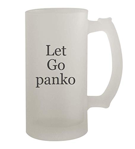 Let Go panko - 16oz Frosted Beer Mug Stein, Frosted