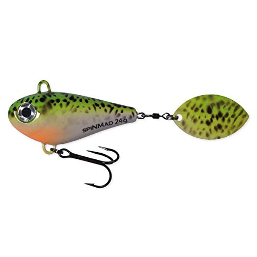 Farbauswahl* Jigspinner Tailspinner SpinMad JIGMASTER 24g 5,3cm *gr