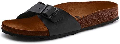 Birkenstock Unisex Arizona Essentials EVA Black Sandals - 44 M EU/13-13.5 B(M) US Women/11-11.5 D(M) US Men