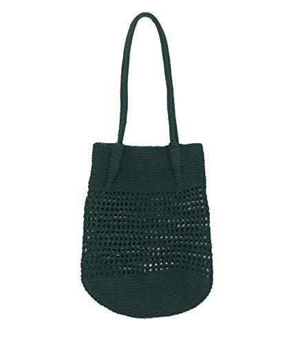 [アーバンリサーチ] 鞄 トートバッグ 透かし編みトートバッグ レディース UR15-2AP008 GREEN -