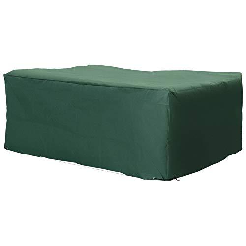 Outsunny UV Rain Protective Rattan Furniture Cover for Wicker Rattan Garden 210x140x80cm