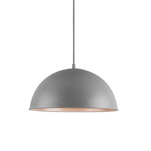 [lux.pro] Decoratieve design hanglamp Barcelona - grijs
