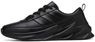 BERKINS Mens Breathable Cloth Surface Shark Series Sports,Casual,Walking,Running, Gymwear Shoes (Black)