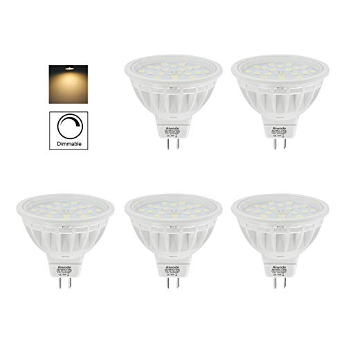 Aiwode 5er Pack Dimmbar DC12V MR16 LED...