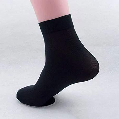 Planuuik 2/5/10 paar heren bamboevezels ultradunne elastische business sokjes Deodorant