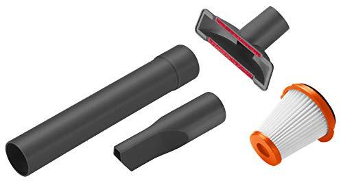 Gardena Zubehör-Set Outdoor Handsauger EasyClean Li: Aufsatzdüsen-Set für die effektive Reinigung im Innenbereich, mit Fugen- und Polsterdüse (9343-20)