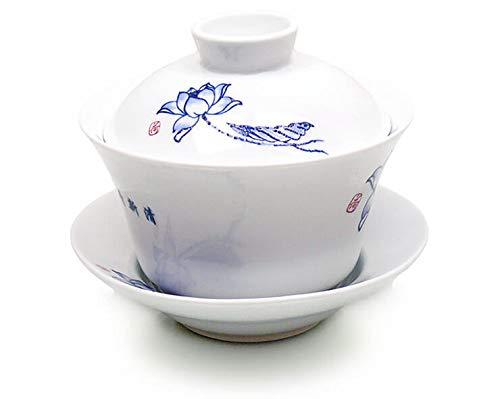 China »Gaiwan Zara« große Deckeltasse aus Porzellan 1 Stück